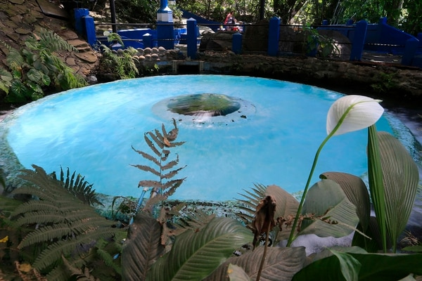 Este es el afloramiento de agua que da nombre al balneario Ojo de Agua. Fotografía: Rafael Pacheco