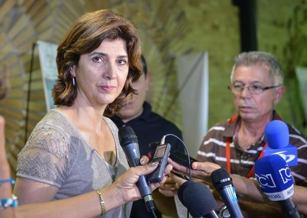 María Ángela Holguín: