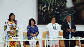 Víctimas colombianas participan  en cita de paz