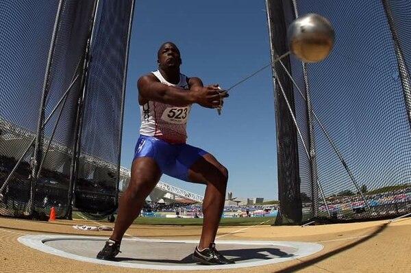 Roberto Sawyers participó en los Juegos Olímpicos de Río 2016 y en el Mundial de Atletismo en Pekín, China, en 2015. Fotografía: Grupo Nación