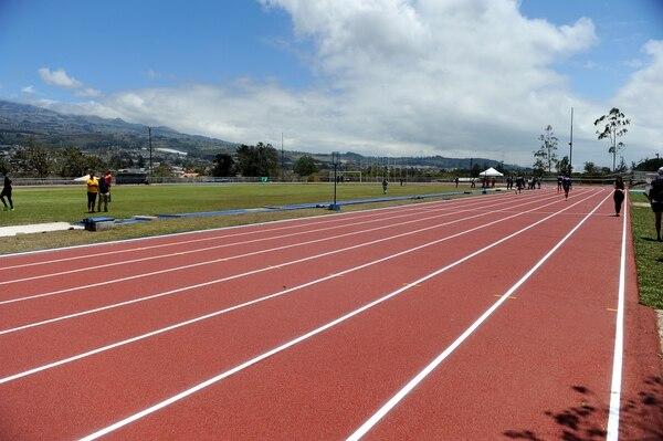 La pista de atletismo del Tec normalmente no es abierta a todo público. Fotos Melissa Fernández