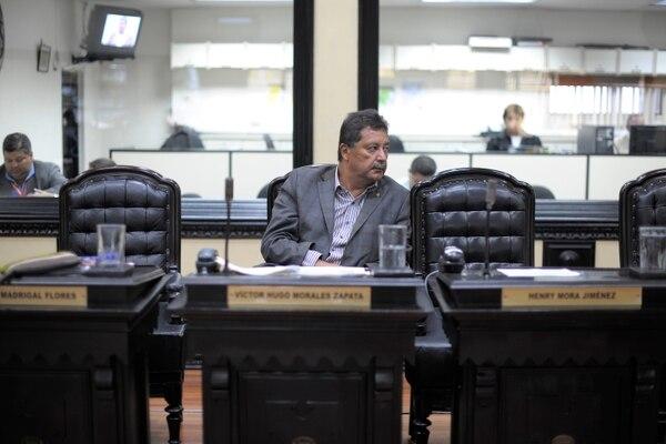Víctor Hugo Morales Zapata, exdiputado. Fotografía: Jose Díaz.