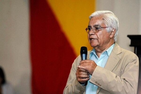 Federico Picado Gómez participó abiertamente en el proceso interno del PAC. Aquí, en una asamblea del 2013. | ADRIANA ARAYA/ARCHIVO LN