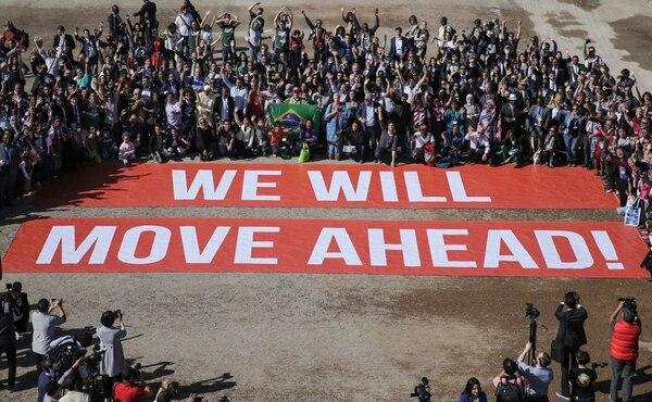 Los participantes de la cumbre del clima, que actualmente tiene lugar en Marrakech (Marruecos), manifestaron su apoyo al Acuerdo de París.