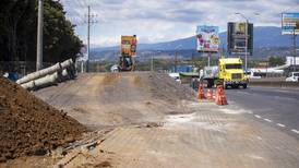 Reducción de carriles en General Cañas se aplica desde la tarde de este martes 16 de febrero