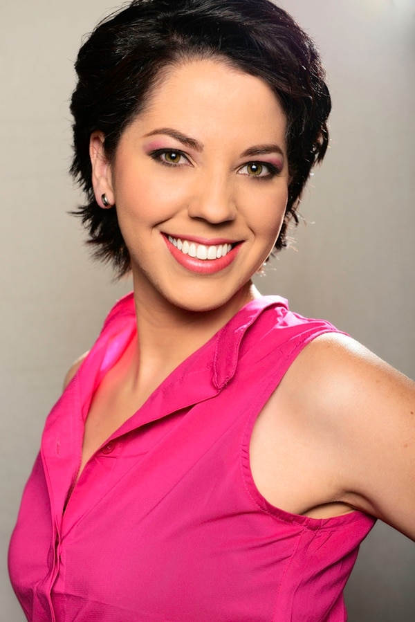 Lussania trabajó en VM Latino como presentadora. Además, participó en la grabación del documental Vida, voy de nuevo sobre el cáncer de mama. | CORTESÍA REPRETEL PARA LN.