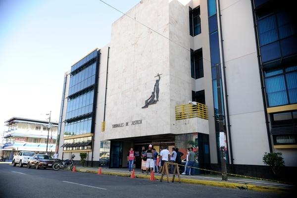 La sentencia fue dictada en los Tribunales de Justicia Limón. Fotografía: Rafael Murillo
