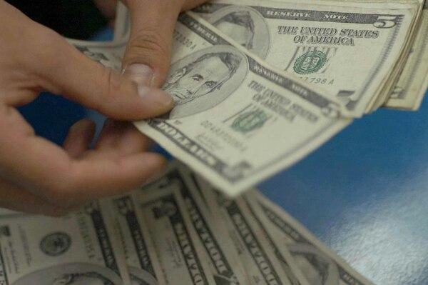 El diferencial cambiario llegó ayer a su punto más alto desde que el Banco Central impuso el sistema de bandas cambiarias en el 2006. | ARCHIVO