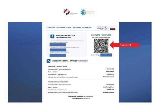 Verifique si usted recibió certificado de vacunación sin solicitarlo