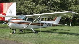Piloto denunció robo de avión 10 horas después de aterrizaje