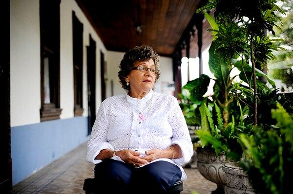María Elena Salguero fue diagnosticada con cáncer de mama en el 2012