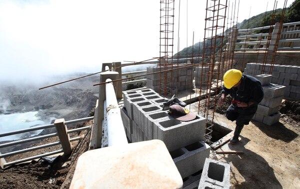 La economía costarricense se acelera y el sector de la construcción es el que muestra el mejor desempeño en el último año puesto. Fotografia: Graciela Solís