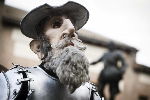 El sábado se inició el Carnaval madrileño, que este año rinde homenaje al cuarto centenario de la primera edición de la Segunda Parte de 'Don Quijote de La Mancha'.