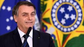 Fuerte caída en la popularidad del presidente brasileño Jair Bolsonaro