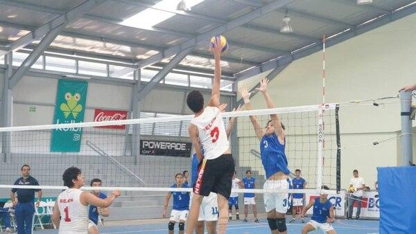 Este jueves, Belén venció a San José con parciales de 25-16 y 25-18 en el voleibol masculino de los Juegos Nacionales 2014.