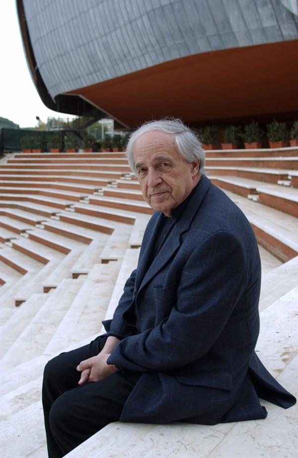 Labor. En esta foto del 2002, se ve a Pierre Boulez en Roma, durante una temporada de conciertos. Photo Musacchio /AFP.