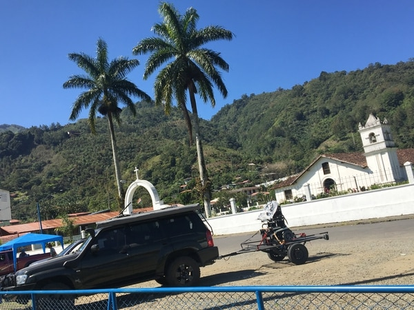 El distrito de Orosi en Paraíso de Cartago es un sitio donde muchos ciclistas entrenan las mañanas de sábado y domingo