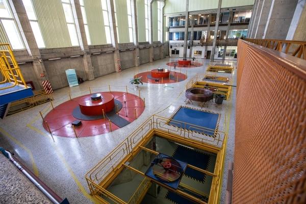 Este 4 de diciembre el ICE conmemoró el 40 aniversario de la entrada en operación de la planta hidroeléctrica Arenal. Foto: ICE para LN