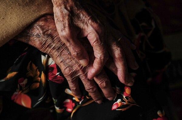 Ancianos están casados desde hace 43 años, pero están separados desde hace 20, según contó una de sus hijas. Ellos vivían juntos en San Pedro. | XFGH XFGHSDFDFSDFSDFS