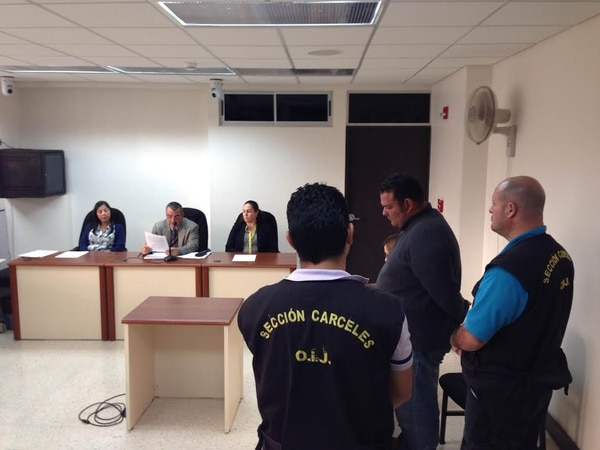 Barrantes escuchó sereno la sentencia condenatoria a las 4:40 p. m. en los Tribunales de Cartago