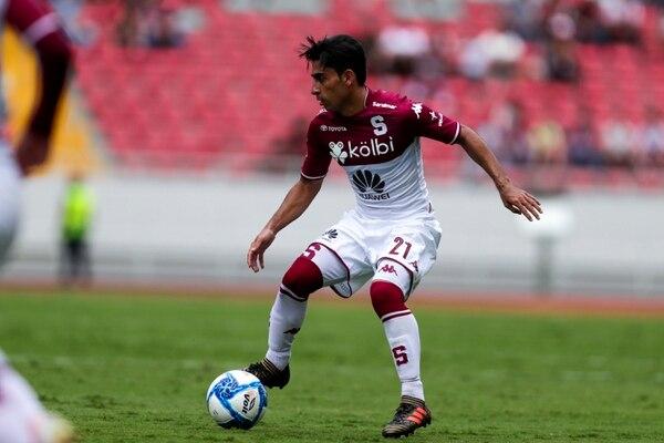 Esteban Rodríguez tuvo participación en el Clásico sin Colores, donde se enfrentó a Alajuelense. Fotografía José Cordero