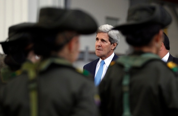 John Kerry visitó este lunes Colombia, este martes arribará a Brasilia para conversar con la presidenta Dilma Rousseff.