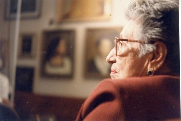 Lilia Ramos vivió 84 años. Además del Magón, ella recibió el premio Fernández Ferraz del Instituto de Cultura Hispánica y fue nombrada hija predilecta de San José en 1979. Foto: Archivo LN.