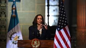 Kamala Harris pide a Guatemala un trabajo conjunto para que la gente 'no se vaya de casa'