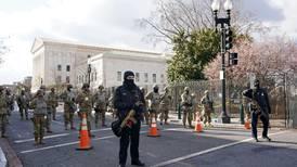Washington fue una fortaleza en el primer día del gobierno de Joe Biden