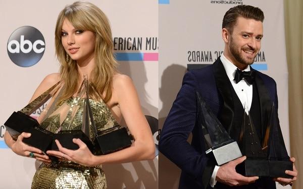 Los cinco momentos más comentados de los American Music Awards
