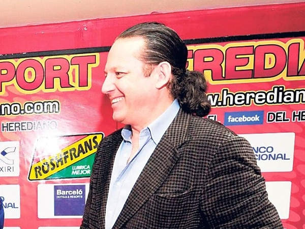 Mario Sotela es hoy el vicepresidente del Herediano.   ARCHIVO