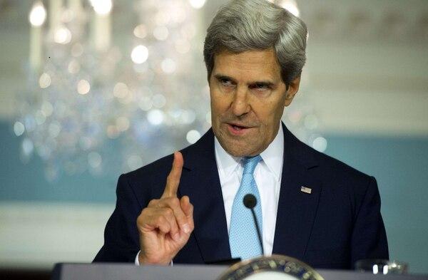 El Secretario de Estado de los Estados Unidos, John Kerry, habló, hoy viernes, sobre la situación en Siria, desde Washington. Indicó que un informe de inteligencia de su país indicó que el gobierno de Siria fue responsable del ataque químico del miércoles pasado.