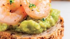 Receta de cocina: canapé de camarón