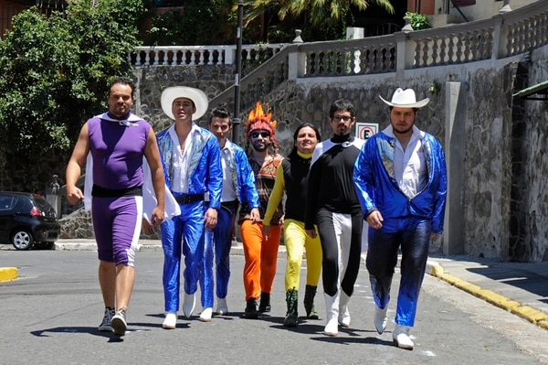 """Show . Los Ajenos prometieron un espectáculo """"fuera de este mundo"""". Mayela López / archivo"""