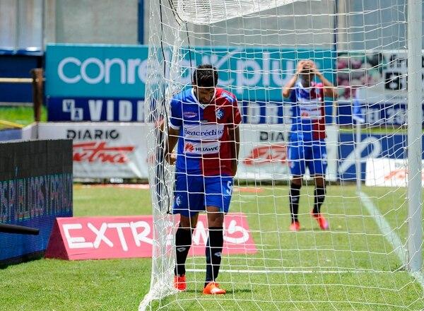 Ronchetti mostró su frustración en domingo anterior. | DIANA MÉNDEZ