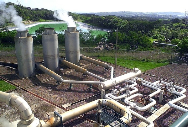 Costa Rica tiene en La Fortuna, Bagaces, el proyecto de generación geotérmico de Miravalles. Se genera electricidad con el uso de gas natural. | ARCHIVO