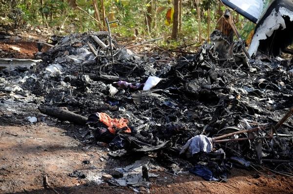 El accidente aéreo ocurrió el domingo 31 de diciembre. Foto: Gesline Anrango