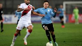 Perú y Uruguay empatan 1-1 en eliminatoria sudamericana en Lima