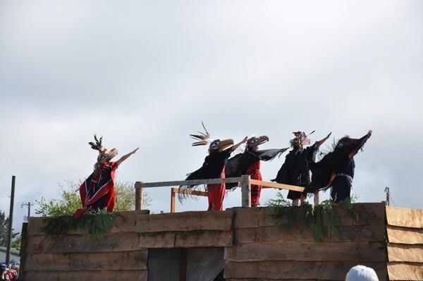 Indígenas de la tribu makah de Estados Unidos se presentarán el 2 de febrero. Cortesía del Teatro Nacional.