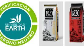 Café 1820 es marca carbono neutro