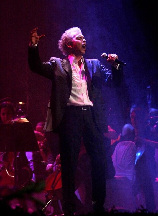 Acá una fotografía del último concierto que ofreció Jairo en Costa Rica. Fue tomada en el 2009. Foto: Archivo.