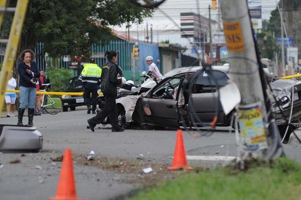 El accidente ocurrió a las 4: 50 a. m. | ALBERT MARÍN