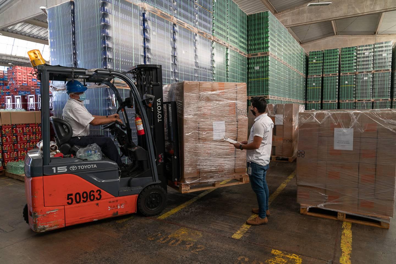 Los productos Nutrivida se enviarán a Nicaragua a partir de este mes de octubre, En el primer semestre del 2021 llegarán a Honduras y Guatemala. Foto: Cortesía