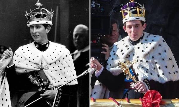 El actor Josh O'Connor (derecha) interpretará al príncipe Carlos en la serie. La producción muestra cuando conoció a Lady Di y cómo le fue infiel con su actual esposa, Camila. Fotografía: Archivo/Netflix