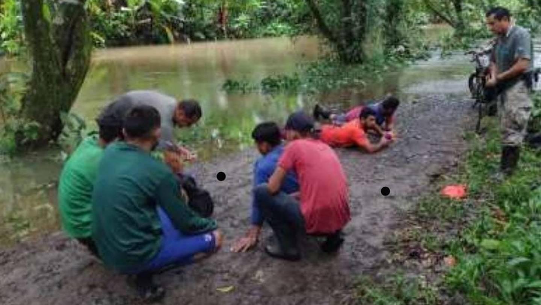 Guardaparques destacados en Tortuguero de Pococí, capturaron este 26 de julio a seis hombres que se encontraban cazando y destazaron tres venados en una zona protegida.