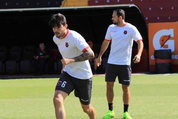 José Andrés Salvatierra estuvo en la primera era de Hernán Torres con la Liga y el colombiano lo tiene en sus planes para este torneo. Fotografía: Prensa Alajuelense