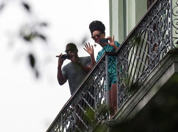 Famosos. Los artistas contrajeron matrimonio en abril del 2008. Este año, celebraron su aniversario en La Habana. Archivo/AFP