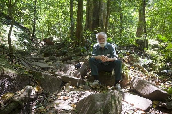 El ecólogo Daniel Janzen visitó por primera vez Costa Rica en 1963. Luego vino como profesor y se dedicó a la investigación. | LUCIANO CAPELLI PARA LN.