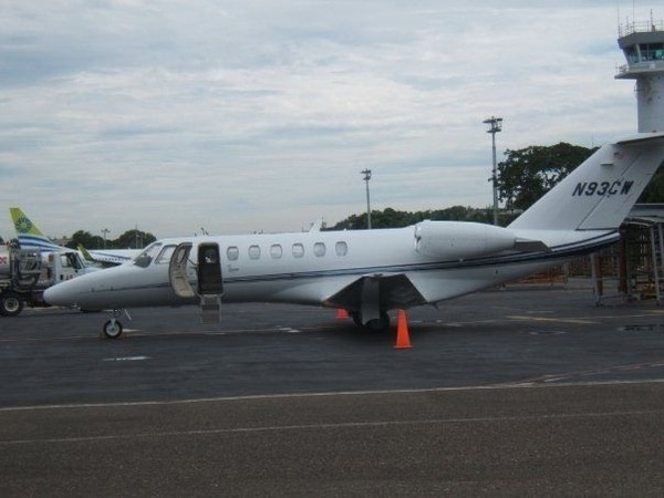El avión de THX Energy fue usado dos veces por la presidenta Chinchilla. | ARCHIVO.