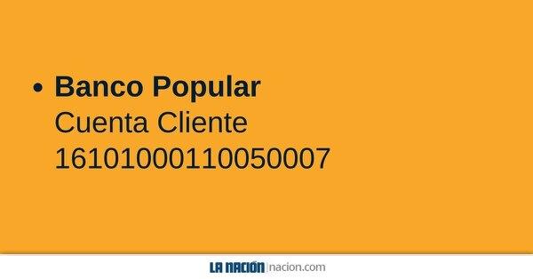 Cuenta Banco Popular.